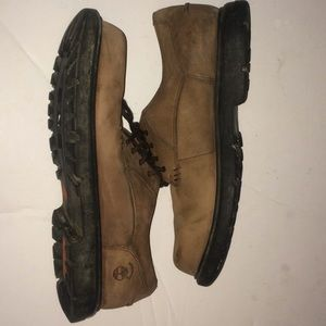 Timberland size 11 1/2 leather shoes
